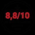 Note satisfaction clients 2020 - Noir Rouge